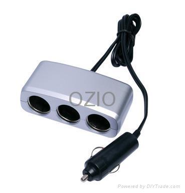 Car Socket 1to3 2