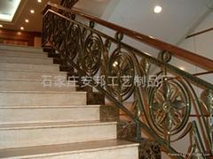 iron art stairs