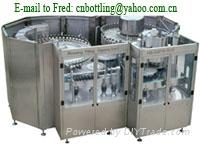 washing/filling/capping 3-in-1 machine