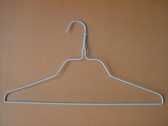 Powder coated wire hanger