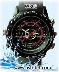 HD Waterproof Watch Video Recorder 1280x960