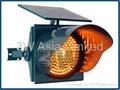 Solar Traffic Flashing Warning Light 1