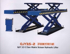 Son-Matrix scissor lifter QJY3.5-2