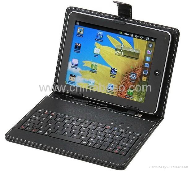 7寸平板电脑键盘皮套 1