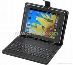 7寸平板电脑键盘皮套