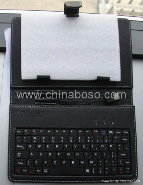 7寸平板电脑键盘皮套 2