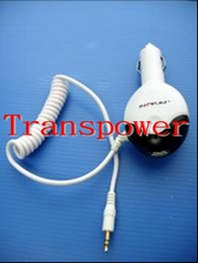 Car charger with FM transimitter