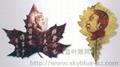 葉彫畫 4