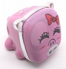 Cute TF Card Mini Speaker for Computer Notebook MP3 Player