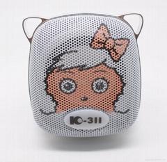 Cute TF Card Mini Speaker for Computer