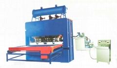 short cycle laminate press