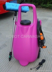12V ,220V portable 25L DIY car washer