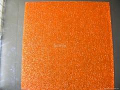 fluorescence texture sheet