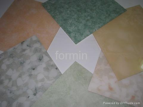 flowery acrylic sheet 2