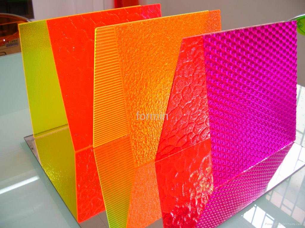 Color Texture Acrylic Sheet Formin China Manufacturer