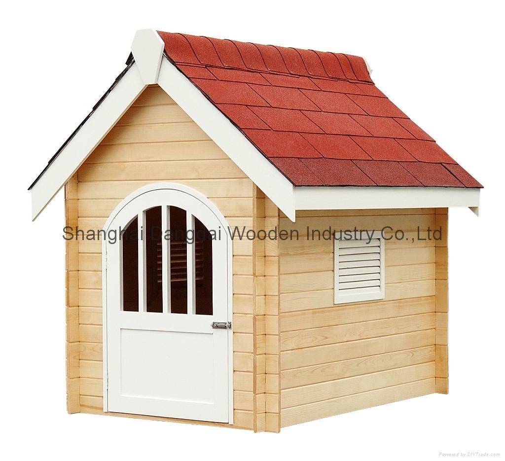 Dog Shelter Wood Dog House Q0914 Shanghai Dangdai
