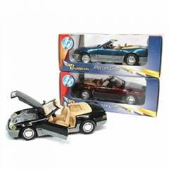 pull back and free wheel, sell different  die cast car in different size.
