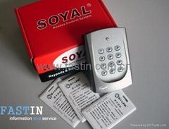 SOYAL-AR-721H单机感应门禁系统
