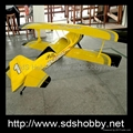 NEW Pitts-s12 100cc Python Version ARF Plane