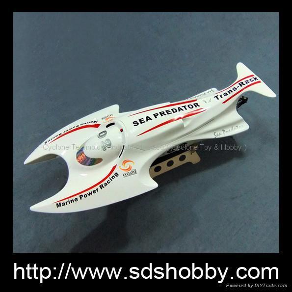 Sea Predator Gasolone boat with 26cc Zenoah engine made in China
