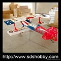 Pitts S12 50cc RC Hobby Gas plane with new eagle color scheme
