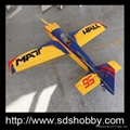 Carbon Fiber Version MXS-R 75in 30-35CC RC Gasoline Airplane