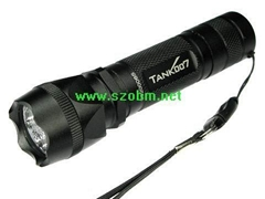 TANK007 PT10 Q5 LED nonpolar numeral Dimmer intensity aluminum flashlights ID:18