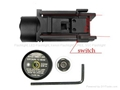 Tactical CREE Q3 LED Flashlight & green Laser Sight