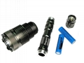 Loongsun Luminus SST-50 LED 6-mode Aluminum Flashlight / Torch