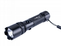 SkyFire SK-9026C CREE Q5 LED 3-Mode Rechargeable Aluminum Flash Torch