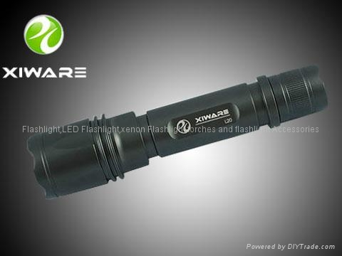 Xiware L20 240 LM CREE Q5 LED Flashlight Torch