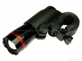 Lichao 1W Zoom Focus LED Bicycle Flashlight (3 Modes)