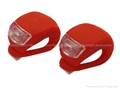 2 Stucks Red Light Fiets Lampen