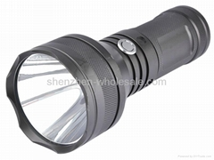 Free Brand Aluminium Alloy CREE L2 LED Flashlight