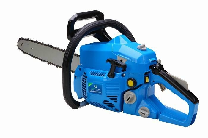 home using gasoling saw  1