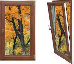 aluminum wood tilt turn window