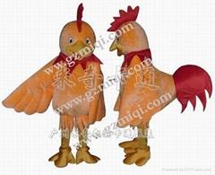 人偶服装鸡