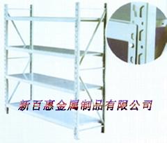 light-duty warehouse shelf