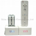 Nintendo Wii Remote Charging Dock With Re - chargeable Battery