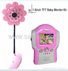 2.4 GHz Wireless Baby Monitor Kit
