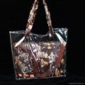 NEW STYLE PVC  Hand bag ,two bag shoulder bag ,shopping bag