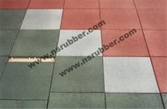 interlock rubber tile