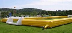 供应充气玩具,气模,充气足球场尽在广州庆丰气模厂