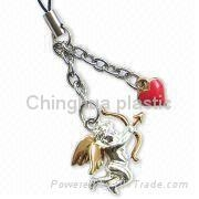 promotion gift-phone charm