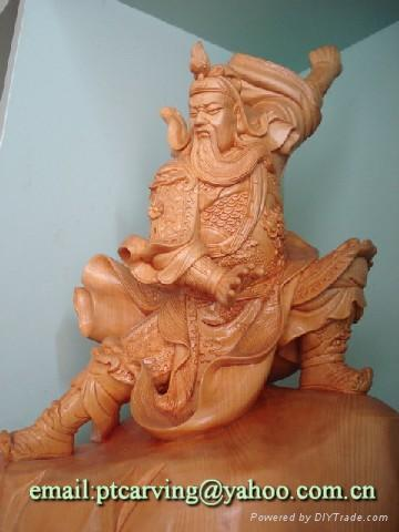 guanxu wooden carving 1