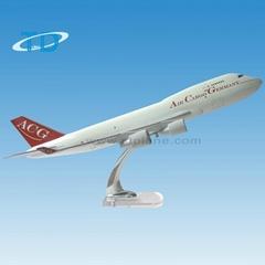 仿真樹脂飛機模型B747-400