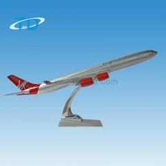 仿真模型飛機A340-600 Virgin atlantic