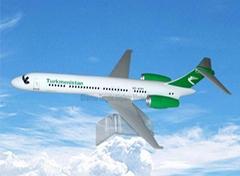 仿真樹脂模型飛機B717