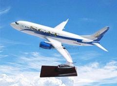 仿真樹脂模型飛機B737-300