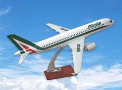 仿真樹脂飛機模型A320